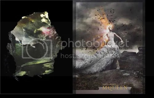 mcqueenaw1 AW11 Campaign: Alexander McQueen Brings The Drama %tag