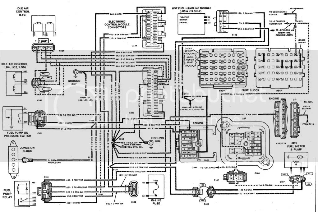 fast wiring diagram for lt1