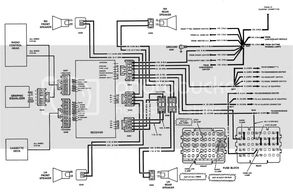 90 Chevy C1500 Wiring Diagram Schematic Diagram Electronic