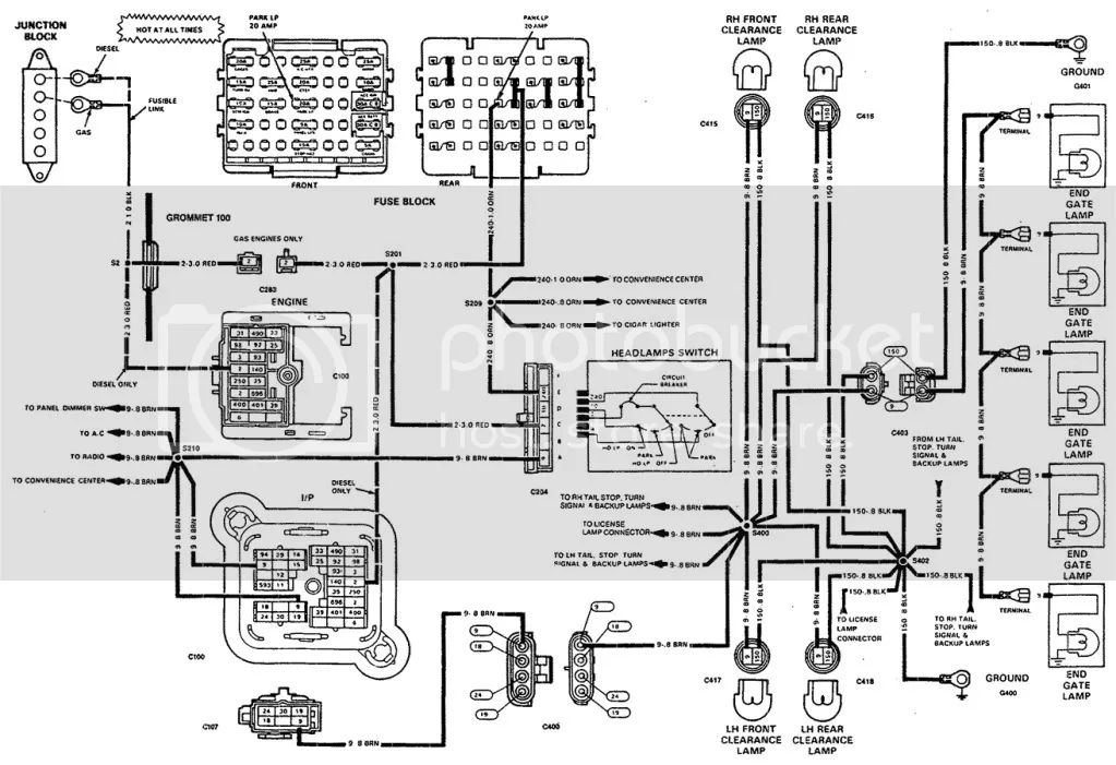 northstar wiring diagram for computer