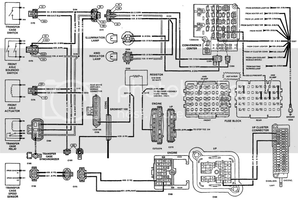 1990 chevy 454 wiring diagram