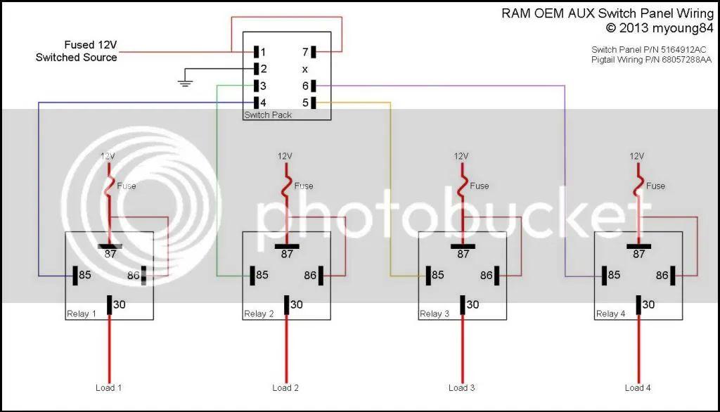 aux wire diagram 2012 ram
