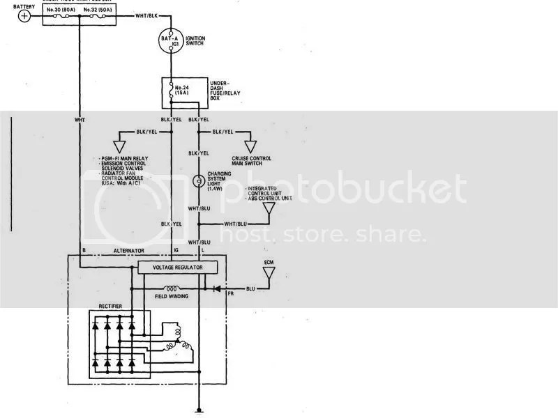 B16a Alternator Wiring Diagram - Carbonvotemuditblog \u2022