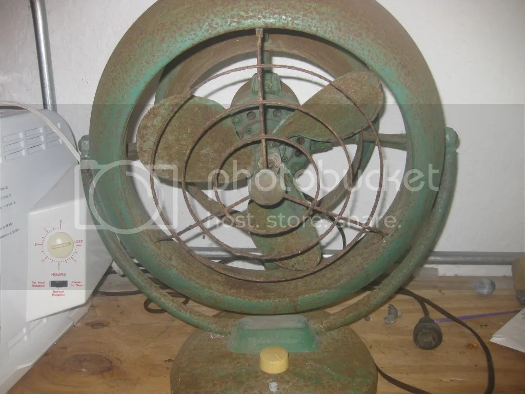 Vintage Looking Fan Fan Restoration And Year Post 1950 Vintage Antique Fan