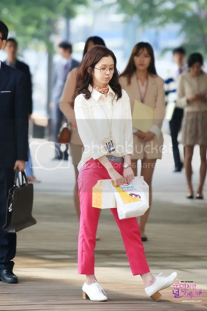 "Love Couch ""fated To Love You"": A Stunned Jang Nara + More Stills"