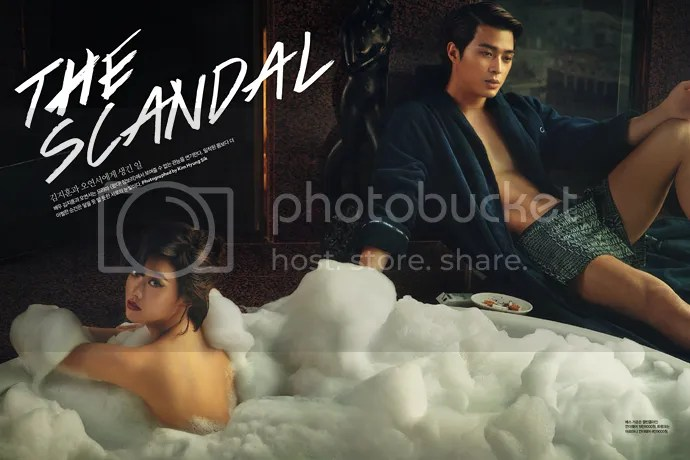 Love Couch Singles' May 2014 Issue Teems With Kim Ji Hoon & Oh Yeon