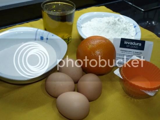 Ingredientes Magdalenas Caseras