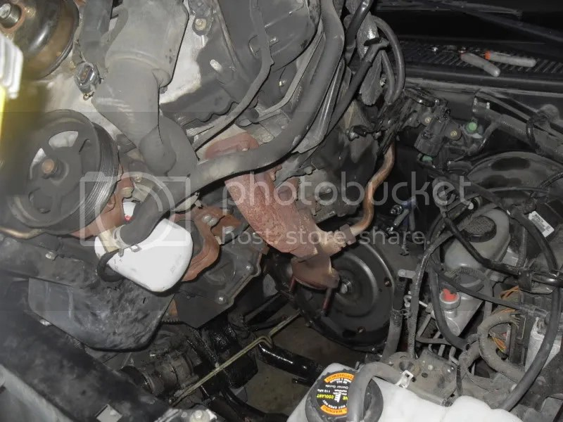 egr nipple into the manifold - F150online Forums