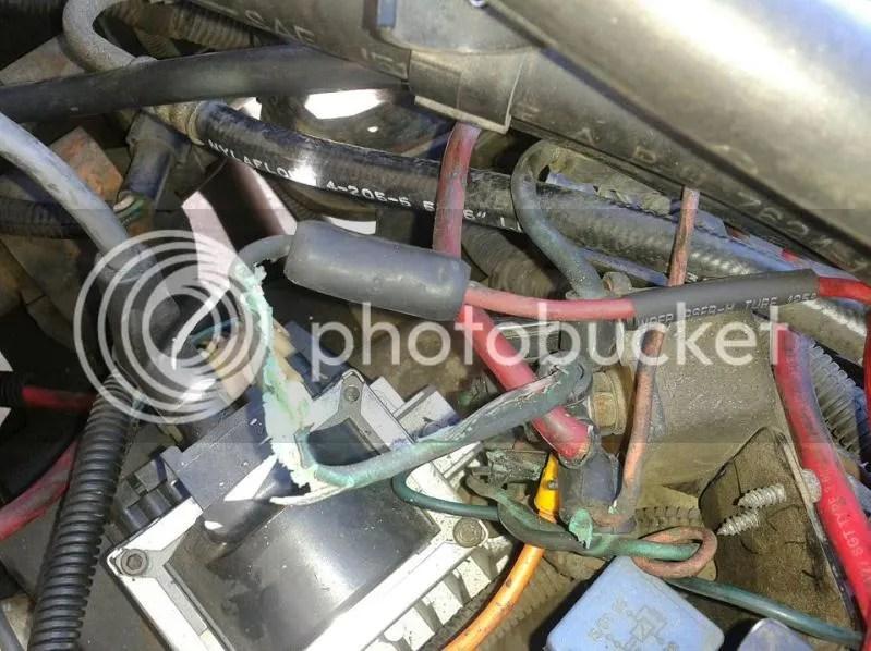 wiring around starter relay - JeepForum