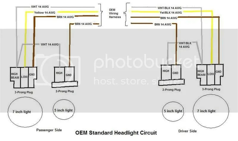 Cable 3 Prong Headlight Wiring Wiring Diagram