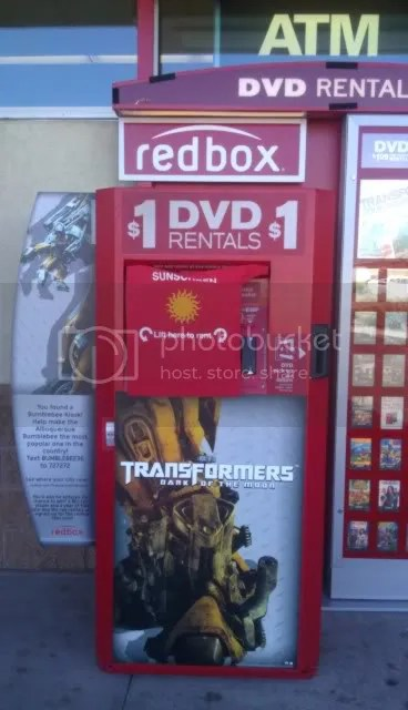 Redbox Celebrates Dark Of The Moon Tfw2005 The 2005 Boards