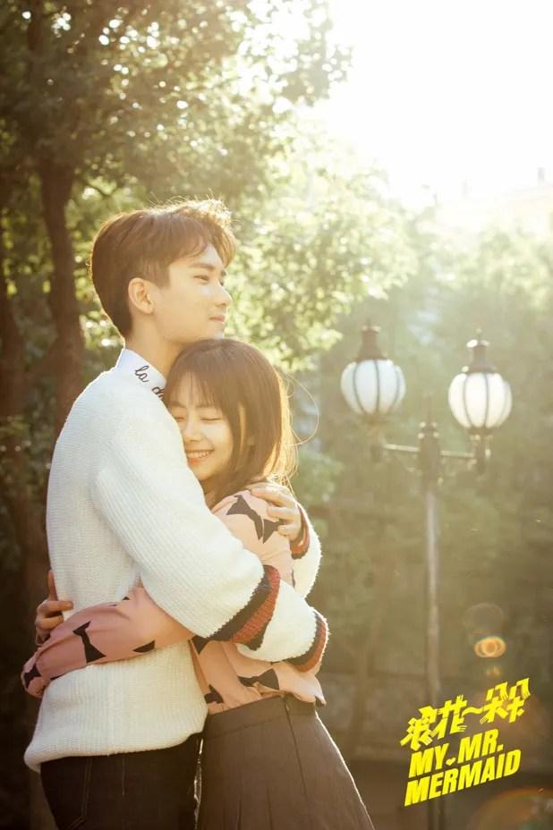 Goggles Girl Wallpaper Xiong Zi Qi Rescues Tan Song Yun In My Mr Mermaid A