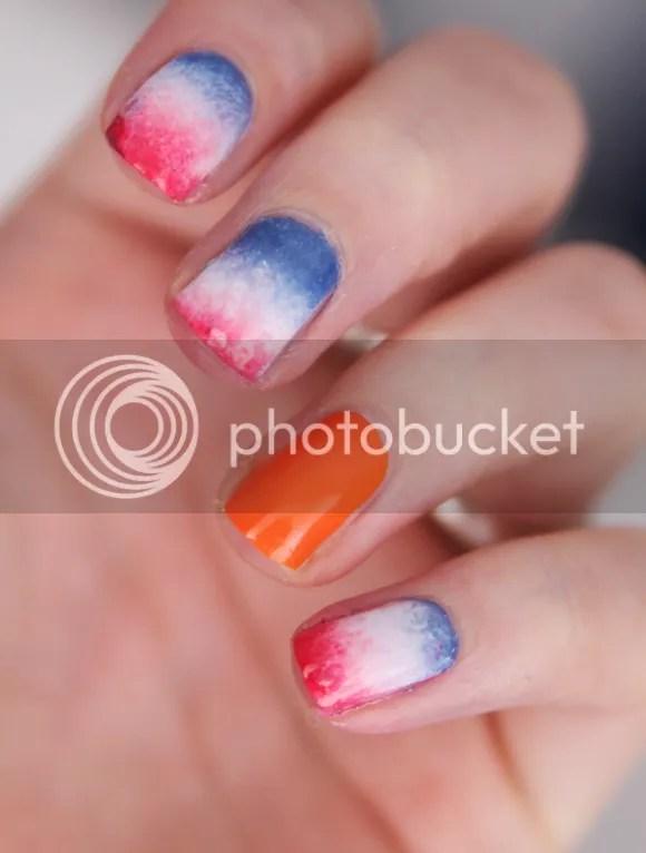 koninginnedag nagels