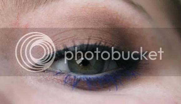 Blauwe Mascara