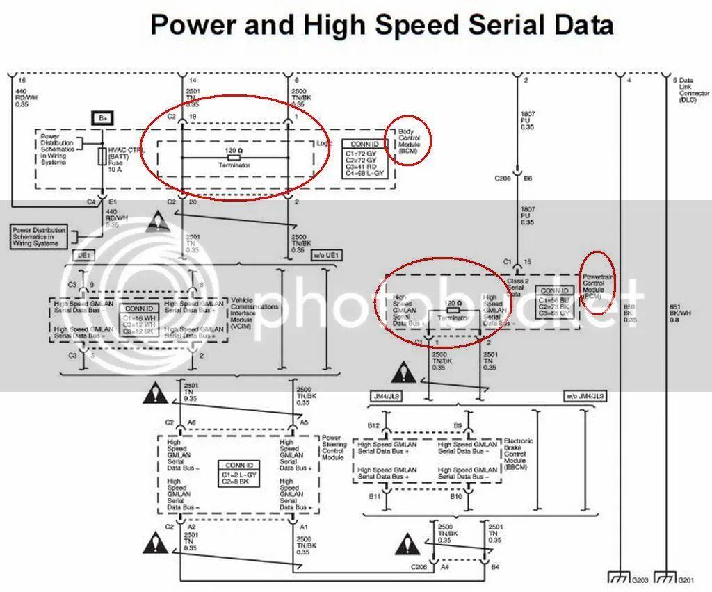 bcm wiring schematics 2007 cadillac escalade ext