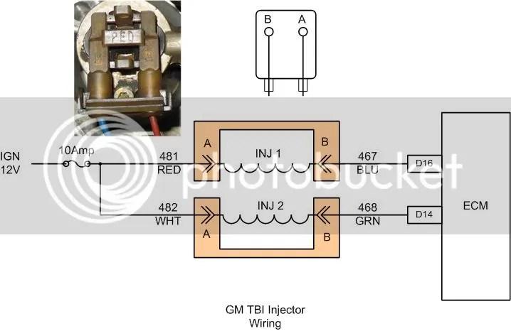 Tbi Injection Wiring Diagram Wiring Schematic Diagram