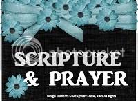 Scripture & Prayer Blog
