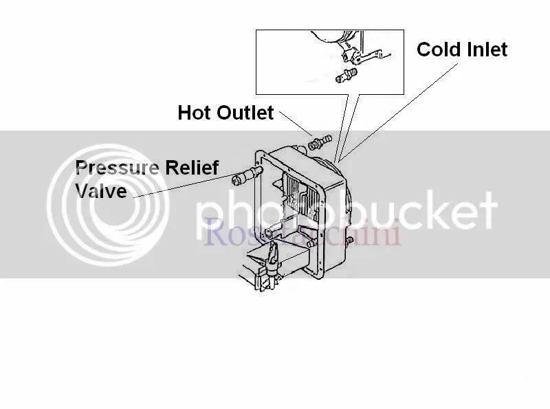 hot water heater diagram