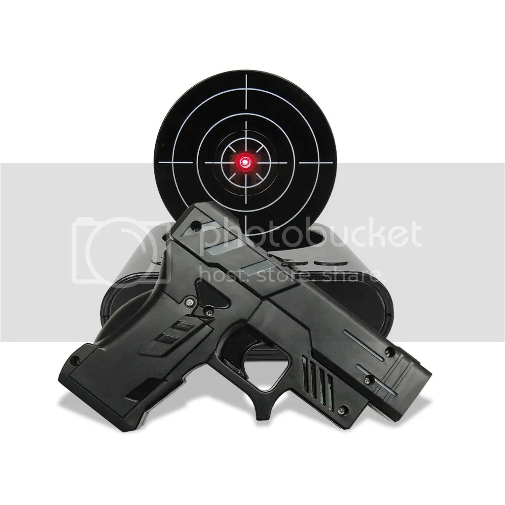 Alarm Clocks Target Laser Gun Alarm Clock Shoot To Stop Lcd Screen Target