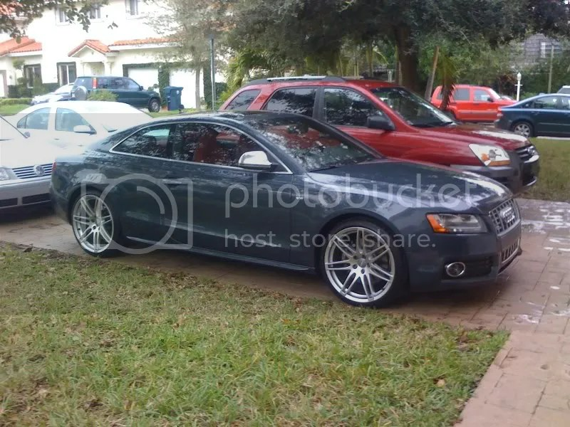 Audi A5 / S5 with custom wheels real life pictures only - Page 3