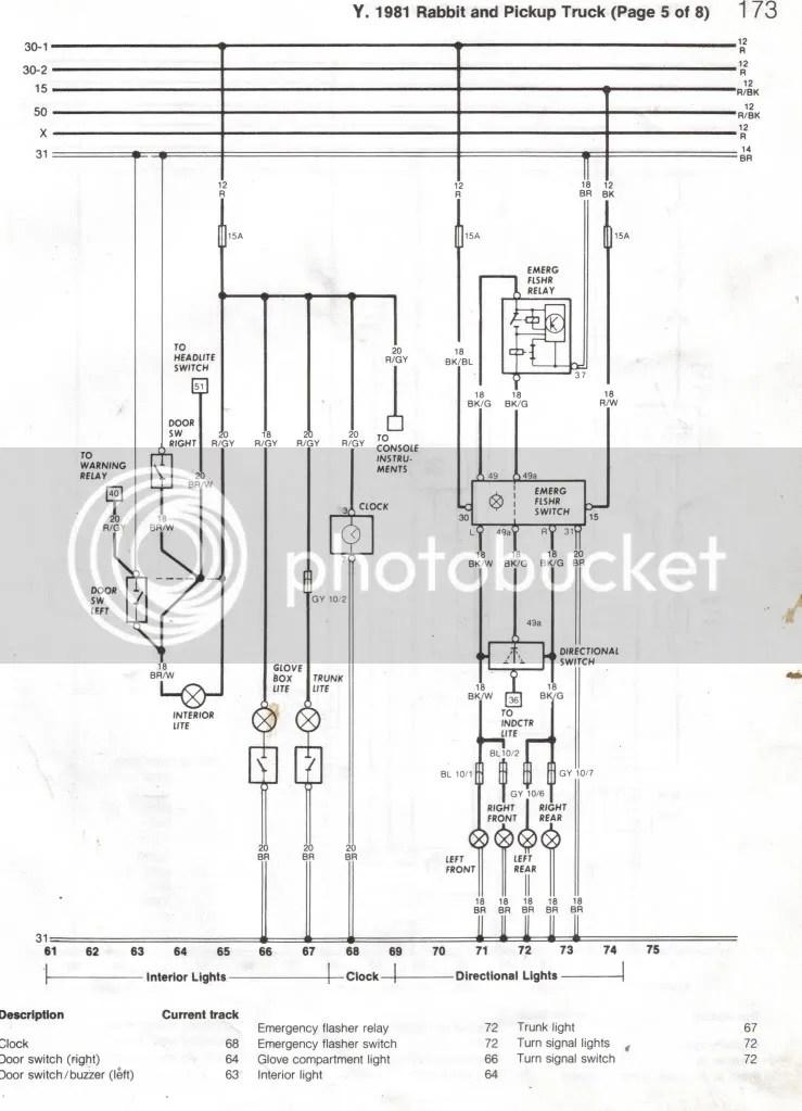 Volkswagen Rabbit Wiring Diagram - Wiring Diagram Write