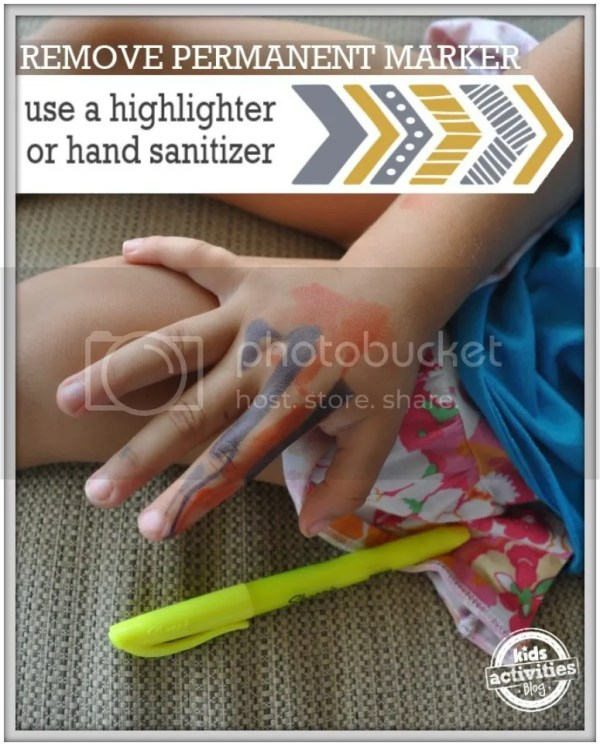 Brand New Mom Hacks to save your sanity! How to clean permanent marker off of your kid