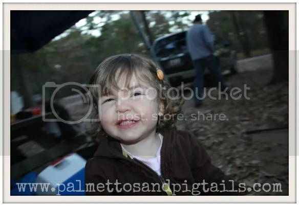 Potty Training While Camping from PalmettosandPigtails.com