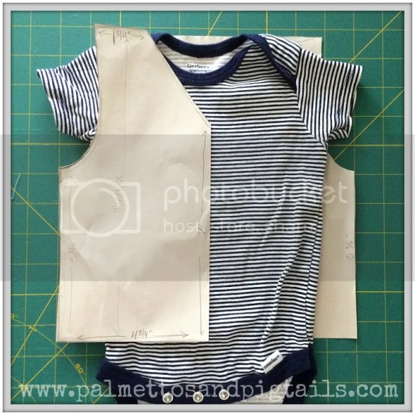 DIY Cowboy Vest Tutorial for a Cowboy Themed First Birthday Party from Palmettos and Pigtails