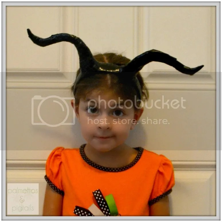 DIY Butterfly Costume and Maleficent Horns