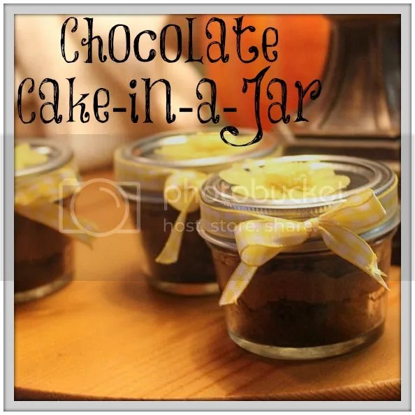 Chocolate Cake-in-a-Jar Tutorial: The perfect neighbor or teacher gift! Palmettos and Pigtails