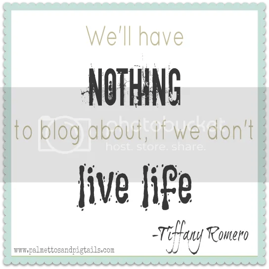 Inspirational Blogging Quotes from Palmettos and Pigtails
