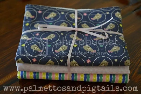 Burp Cloths from Palmettos and Pigtails