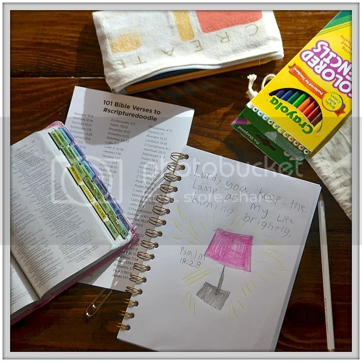 #ScriptureDoodle #Giveaway for a coloring book, and #Bible doodling #art supplies!