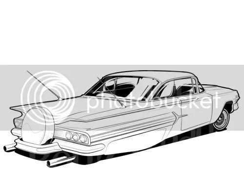 1960 chevy impala Schaltplang