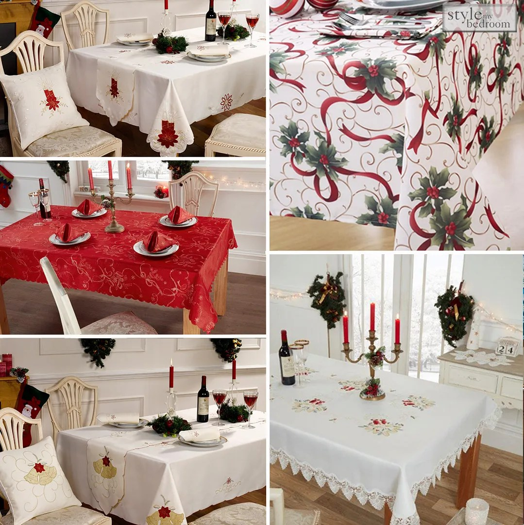 Christmas Tablecloths Australia Details About Christmas Tablecloths Table Runner Napkins Or Cushions
