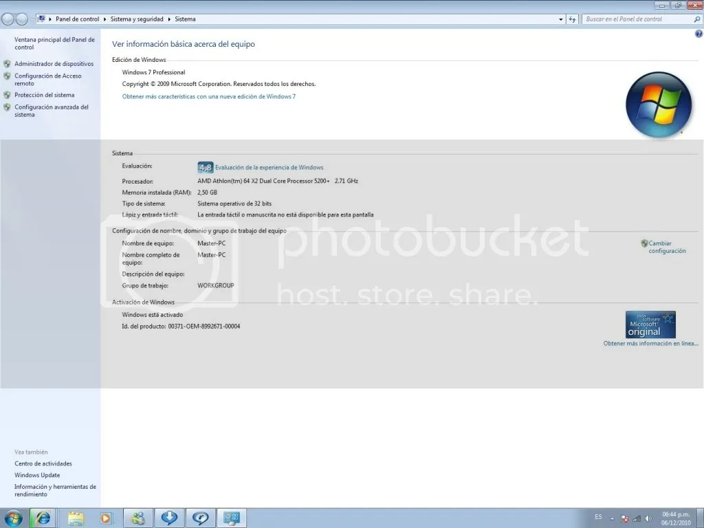 Windows 7 Professional [Español] [32 Y 64 Bits] [1 Link] - Taringa!