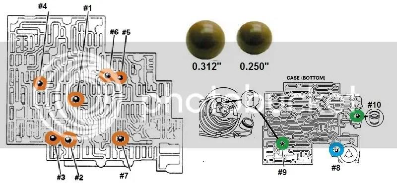 4l60e Check Ball Location Diagram Wiring Schematic Diagram