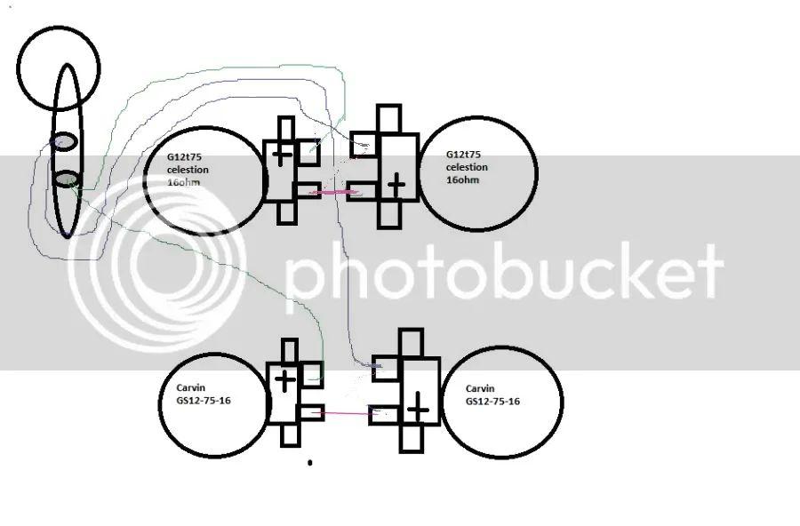 16ohm 2 speakers wiring diagram