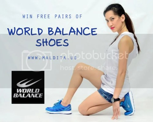 Win Free Pairs Of World Balance Shoes