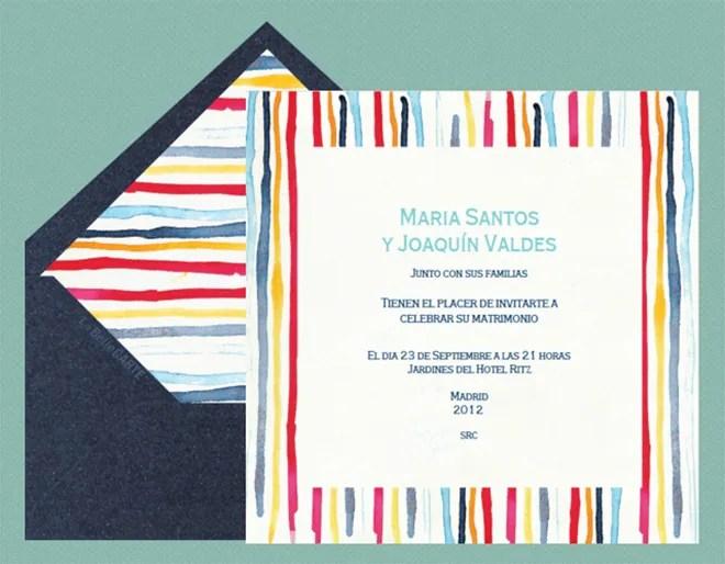 Invitaciones De Boda Online De La Belle Carte Diario De Bodas