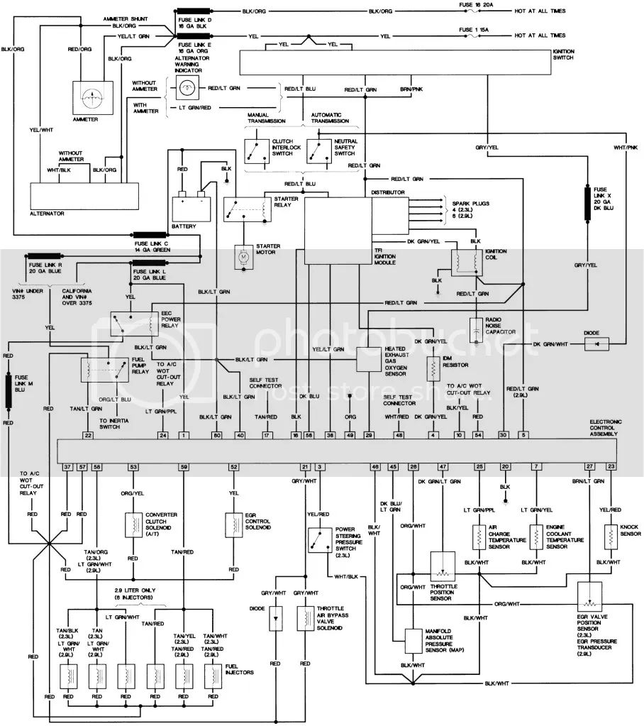 eefi wiring diagram the ranger station forums