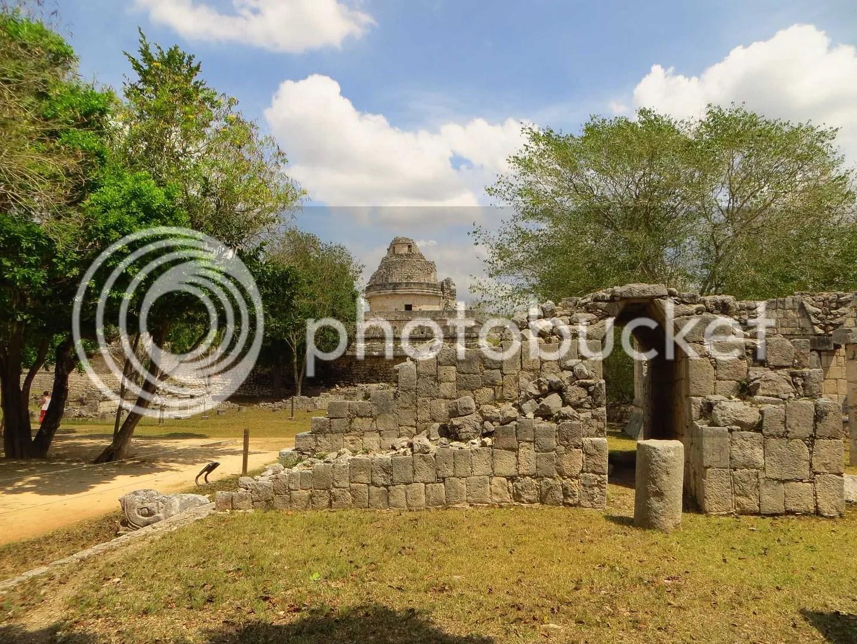 Chichen Itza Arch Old Ruins