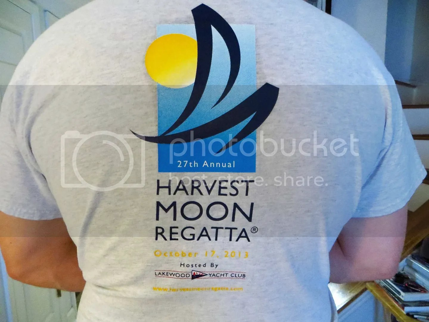 2013 Harvest Moon Regatta Tee Shirt