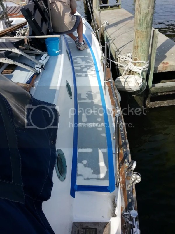 Kiwigrip starboard before