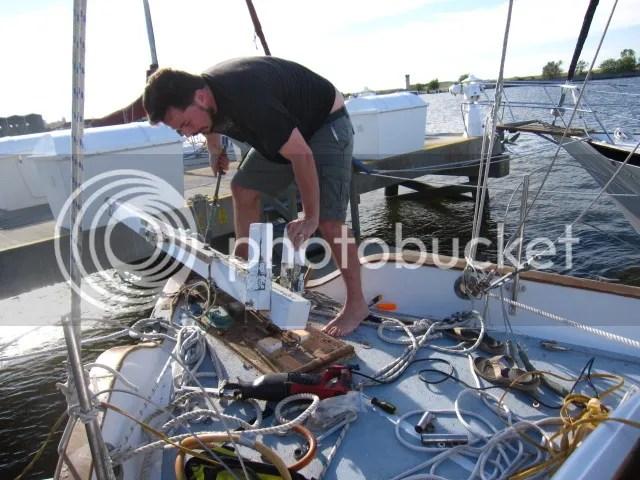 tate removing bowsprit