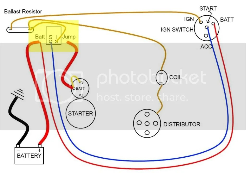 ignition ballast resistor wiring diagram ignition coil wiring