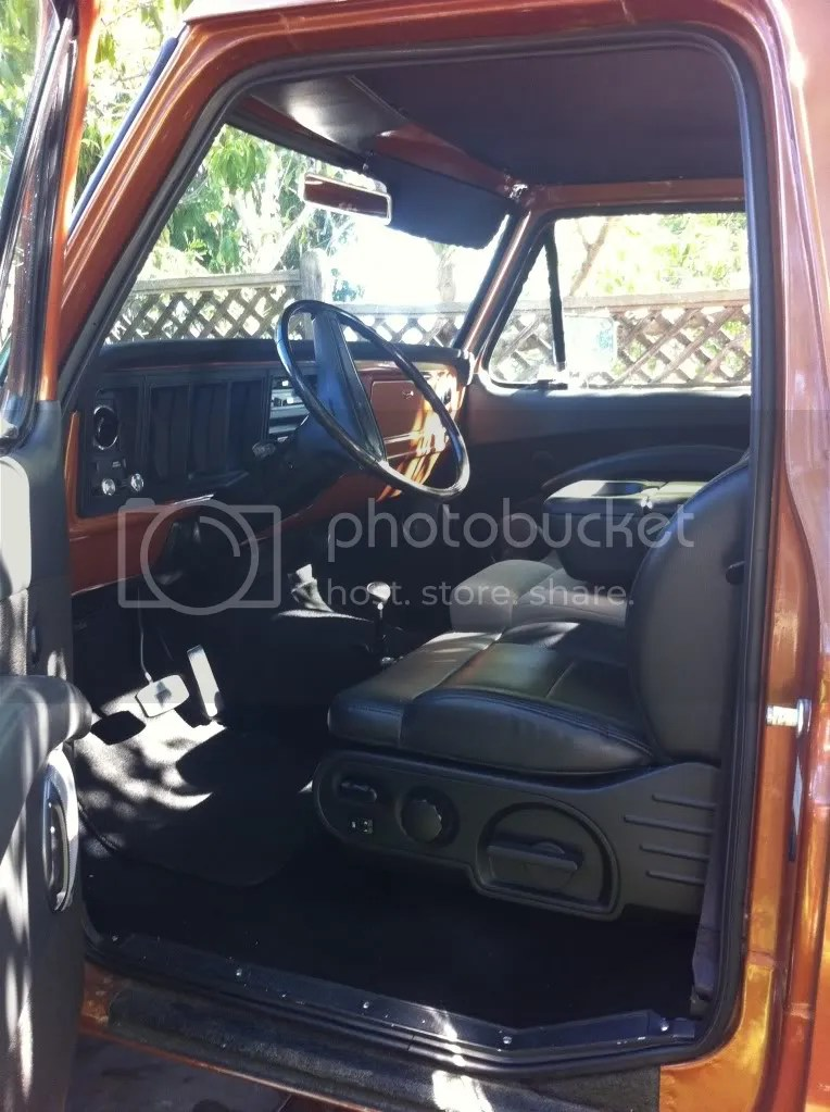 1978 F250 Custom Interior(lots of pics) - Ford Muscle Forums  Ford