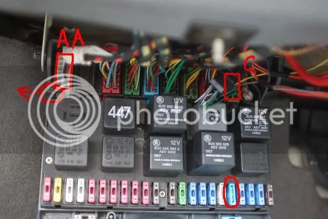 Skoda Battery Fuse Box Wiring Diagram