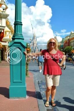 Tracy in Magic Kingdom