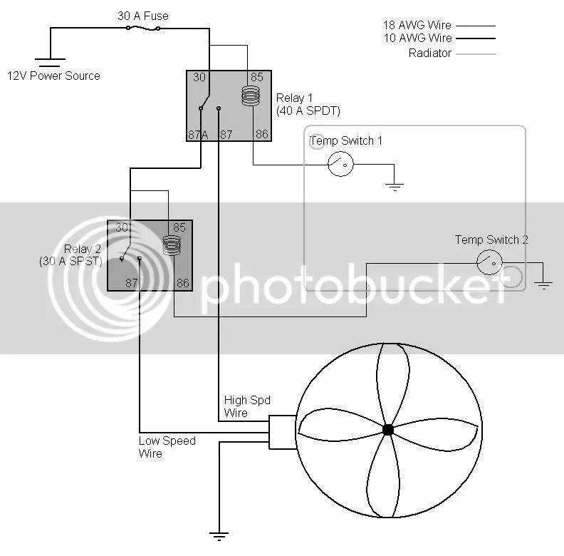 electric cooling fan wiring diagram electric cooling fan wiring